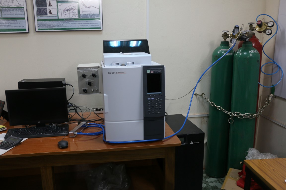 SCHIMADZU-GC-2014-Gas-Chromatograph